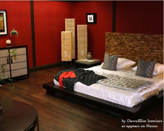Asian Decor | Things We Like: Asian Inspired Bedroom Design | CHARLES P. ROGERS BED ...