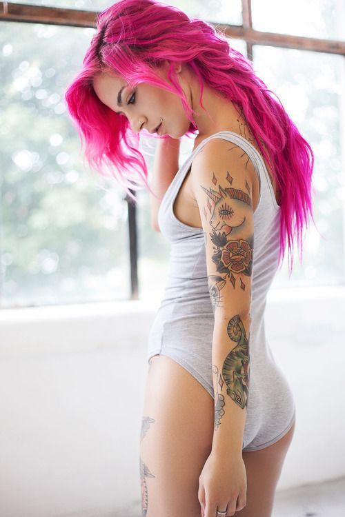 12 raisons pour lesquelles il vous faut absolument trouver une fille tatouée…
