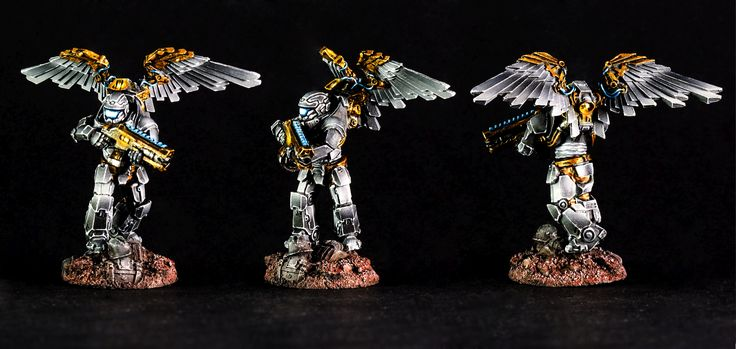 Another great paintjob by Adam, this time strikers with steam wingpacks (https://puppetswar.eu/product.php?id_product=267). What do you think?