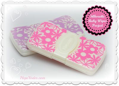 How to cover Huggies wipes case with Vinyl
