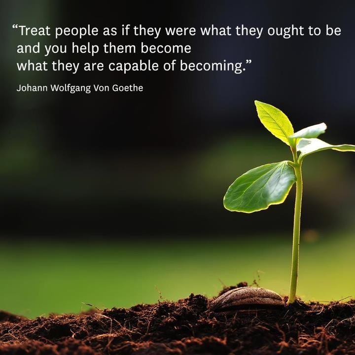 Treat people...Quote