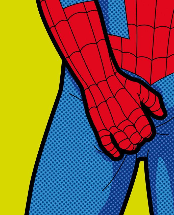 Off-duty Superheroes - Charlotte Delmonte | Creative Graphic ...