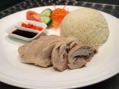 Street Food: Hainan Chicken Rice - $10 - Sam's Singapore Laksa House ~ Crow's Nest