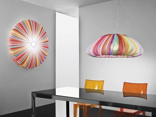 Design Pendant Lamp (fabric) MUSE - linea Axo Light: Lamps, Lights, Lighting, Ceiling, Muse, Design