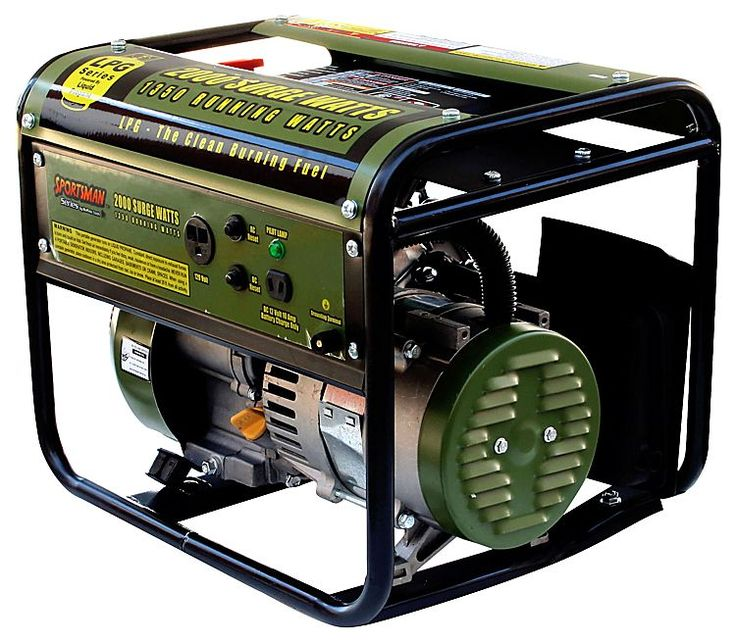Sportsman 2000 Watt Portable Propane Generator | Bass Pro Shops: The Best Hunting, Fishing, Camping & Outdoor Gear