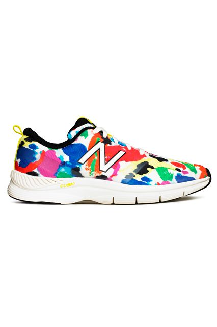 Let your inner art kid come out and play. Kate Spade Saturday x New Balance, $95, available in February 2015 at Kate Spade Saturday and New Balance.
