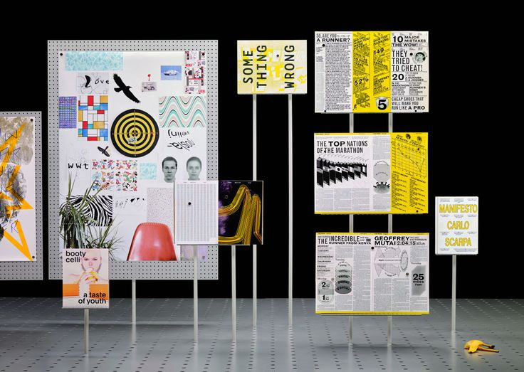 """Very proud to be featured at """"ECAL Graphic Design"""" exhibition and book. Thank you! (Image: ECAL/Philippe Fragnière)"""