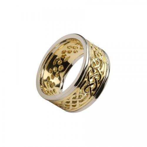 Boyne Filligree Wedding Ring-14K Gold