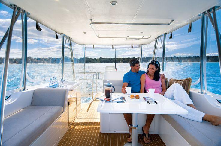 Riviera 45 Open Flybridge Lifestyle