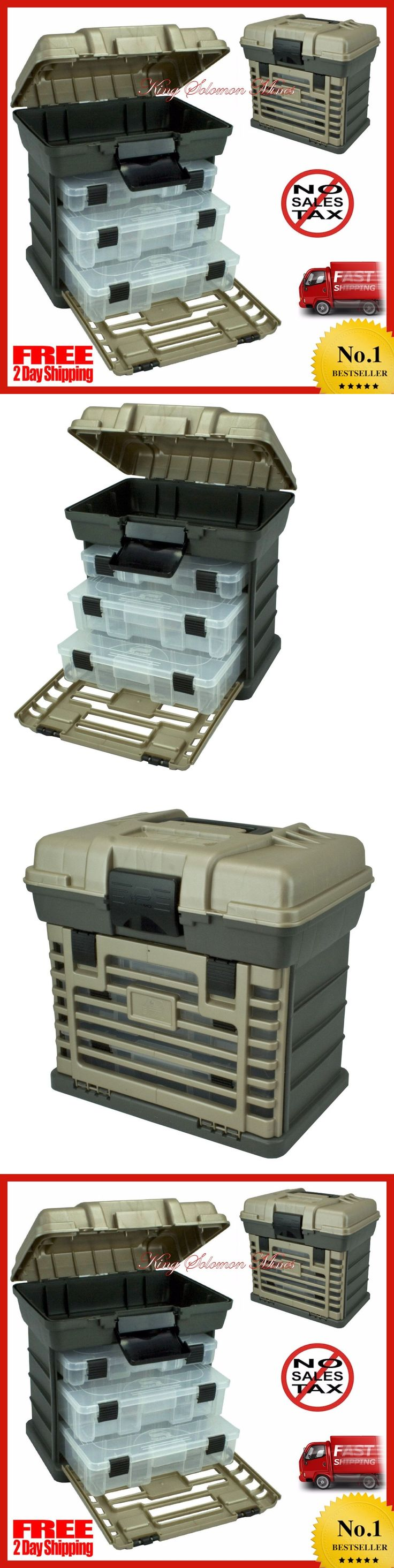 Tackle Boxes and Bags 22696: Fishing Tackle Box Plano Lures Storage Tray Bait Case Tool Organizer Bulk Drawer -> BUY IT NOW ONLY: $31.76 on eBay!