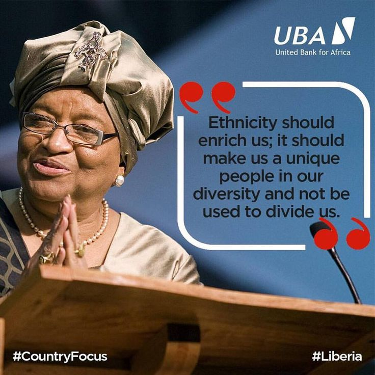 Ellen Johnson Sirleaf is the 24th President of Liberia and Africa's first democratically elected female Head of State