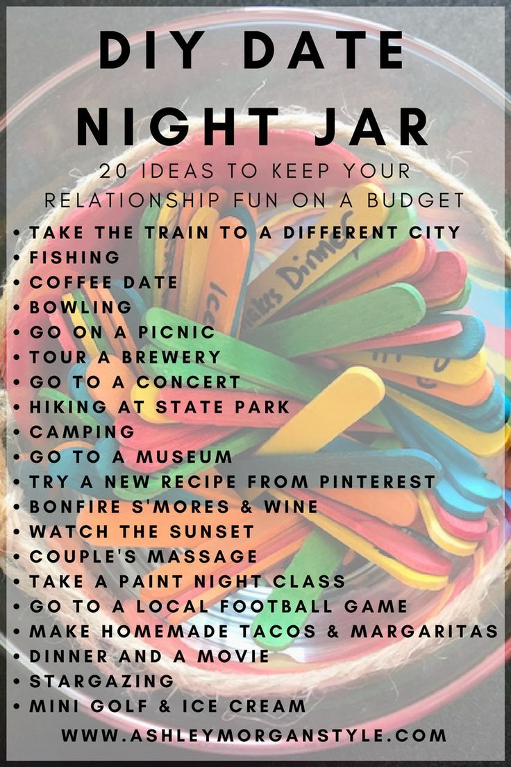 20+ Budget Friendly Date Night Ideas #datenight