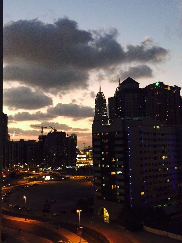 From my window #Tecom #Dubai
