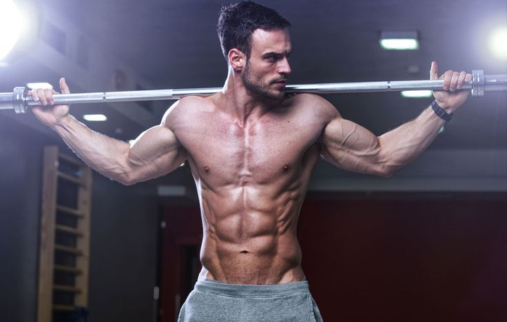 Want to build broad shoulders and a strong core? This exercise checks both off…