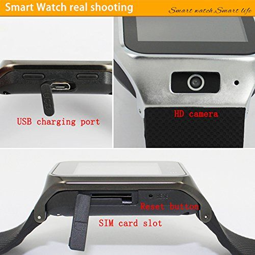Bluetooth Smart Watch with Mic ans WIFI Camera Positioning GPS Navigation Smart 3G Phone Watch Plug-in Cards Calls for Android 4.4 ZGPAX S8   Specifications: 1.The smart watch is a independent smartwatch with use 2G GSM 850/900/1800/1900 internet and 3G WCDMA 2100 When you insert