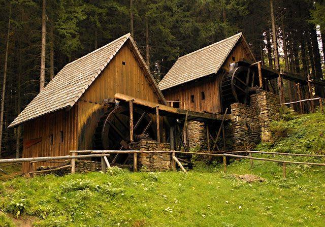 Zlatorudné mlýny v Údolí ztracených štol, Zlaté Hory