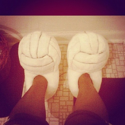 Volleyball slippers!!!