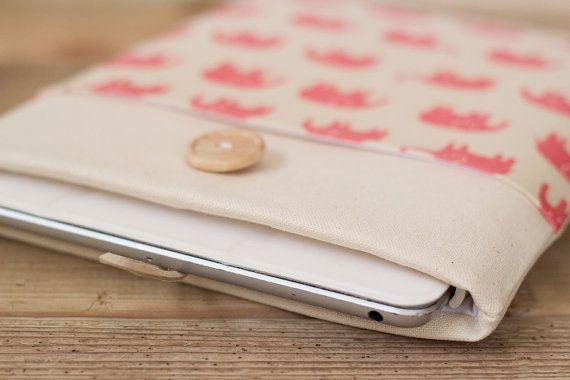iPad mini case iPad mini sleeve 8 inch Custom by PochetteGavotte