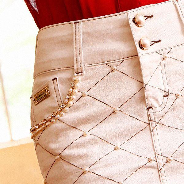 Dia da Mulher no ar  ... Que tal essa saia #titaniumjeans super delicada para dar de presente para a mãe ou esposa amada?