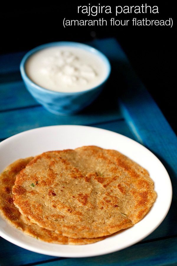 rajgira paratha - healthy gluten free flat bread made with amaranth flour for #navratri fasting.