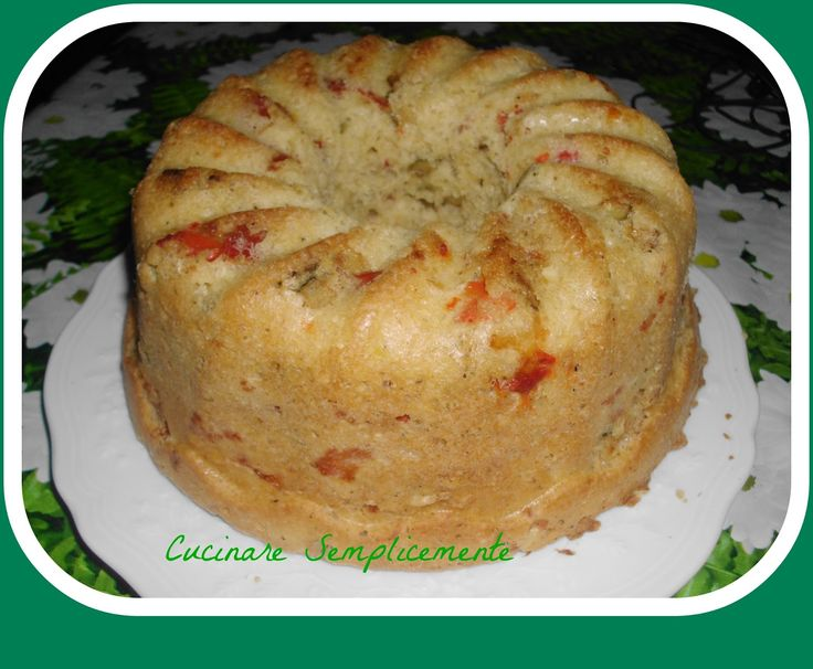 cucinare semplicemente: Baba' con peperoni e zucchine