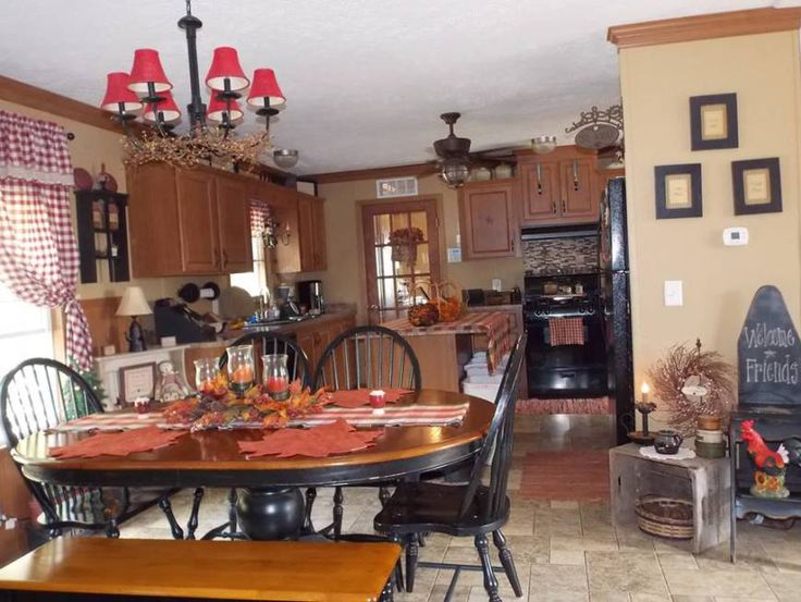 How To Decorate A Kitchen 25+ best manufactured home decorating ideas on pinterest
