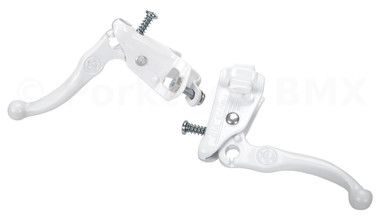 Dia-Compe Tech 3 old school BMX brake lever set - WHITE