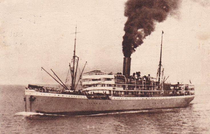 """Paquete """"Lourenço Marques"""", Companhia Nacional de Navegação (Portugal)"""