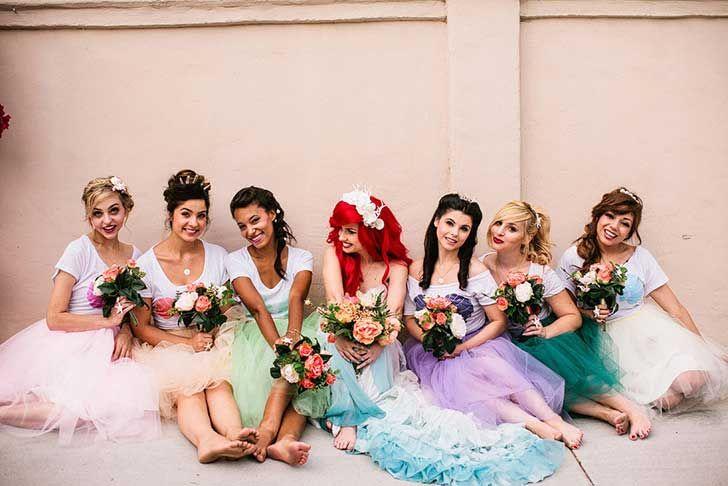 Así sería la #boda de #LaSirenita en la vida real