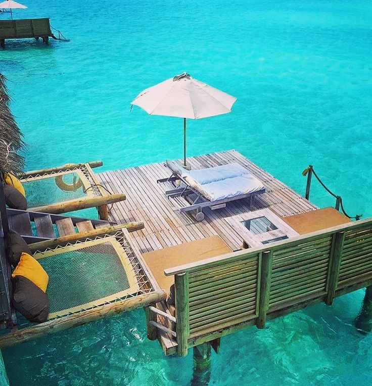 Gili Lankanfushi Resort - Private Waterville. You have to reach each villa by boat.