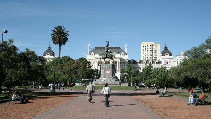 Plaza San Martín . La Plata , La Plata.