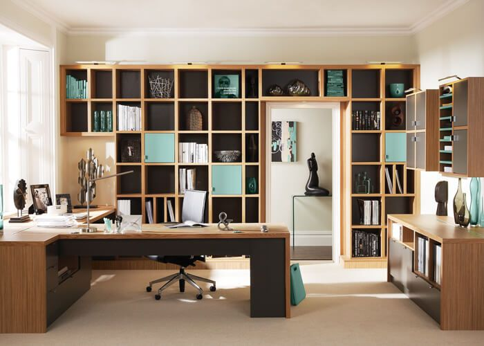Bespoke Furniture Fitted Furniture Neville Johnson Contemporary Home Office Furniture Home Interior Design Home Office Furniture