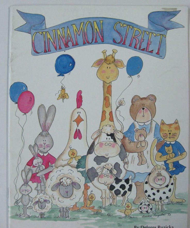 Decorative Painting Book Patterns Cinnamon Street Delores Ruzicka Vintage 1990's #BarrowProductionCo