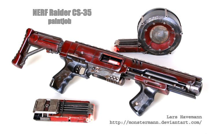 Mod: Nerf Raider CS-35 by Monstermann