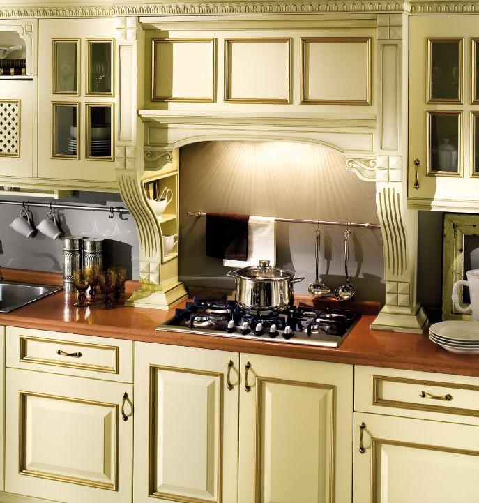 Ma vediamo qualche dettaglio della #CucinaIsabella! Questo modello si caratterizza per un design prezioso e retró che definisce un ambiente-cucina dotato di estrema funzionalità: cestelli e meccanismi estraibili che consentono di organizzarsi e muoversi con praticità, godendo dell'elegante atmosfera che i dettagli di stile conferiscono alla composizione.