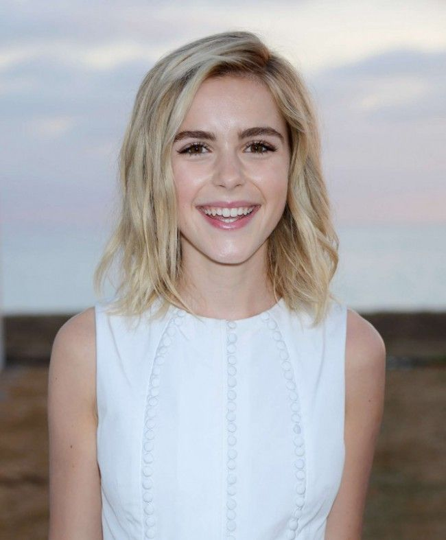 Kiernan Shipka Short White Party Dress 8th Annual Oceana SeaChange Summer Party TCD6249