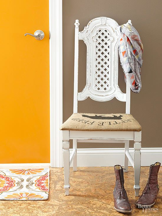 Browse through this list of ideas to add DIY upholstery updates to your list of weekend projects! A little bit of stylish fabric and creativity will result in updated looks for your chairs, headboards, benches and lots more!