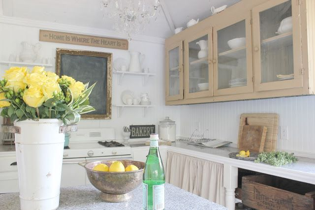 COUNTRY COTTAGE It 39 S All About The Details Cottage Kitchen Tour