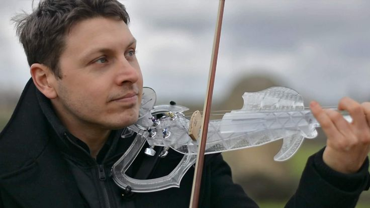 The 3Dvarius, the first fully playable 3D printed and electric violin