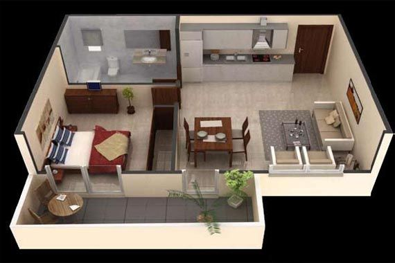 Perfect Efficiency Apartment | What Is A Studio Apartment Image 275 What Is A  Studio Apartment?