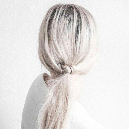 Low ponytail / http://larevuedekenza.fr/