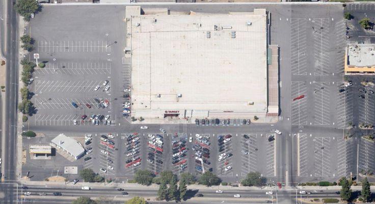 Target Birdview Fresno Cheap land, Walmart, Walmart store