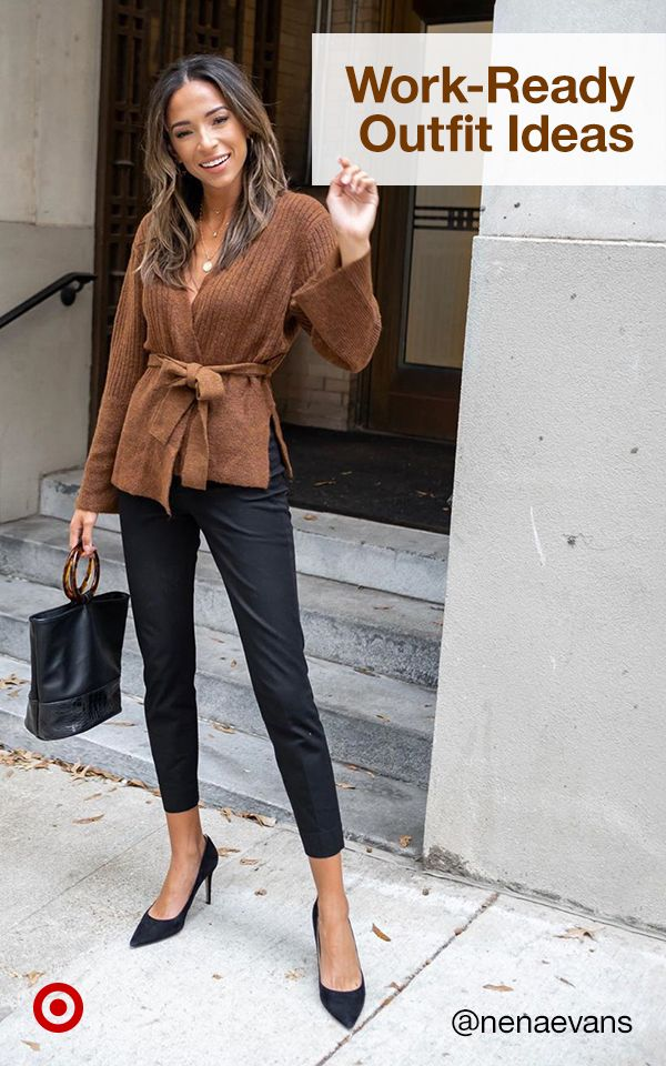 Add Style To Your Wear To Work Wardrobe With Business Casual Outfit Ideas Perfect For The Offic Business Casual Outfits Work Outfits Women Casual Work Outfits