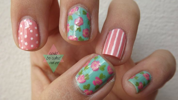 Flower Nail Art Designs - Flower Nails