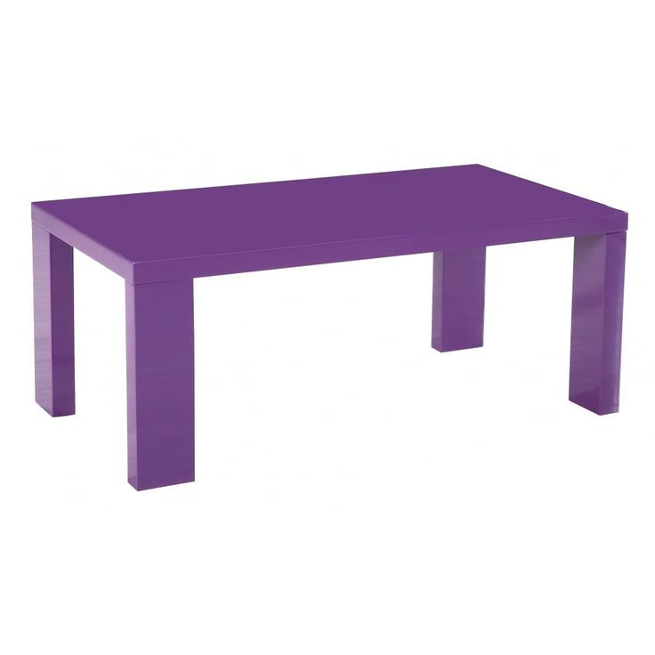 37 best coffee tables images on pinterest high gloss for Purple coffee table