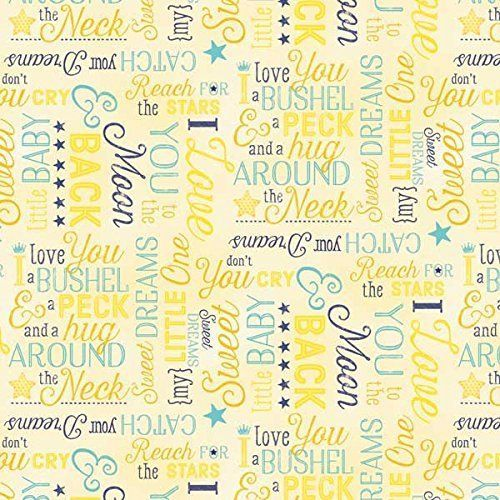 97 best Baby Fabric images on Pinterest | Baby fabric, Flannel and ... : quilting fabric with words - Adamdwight.com