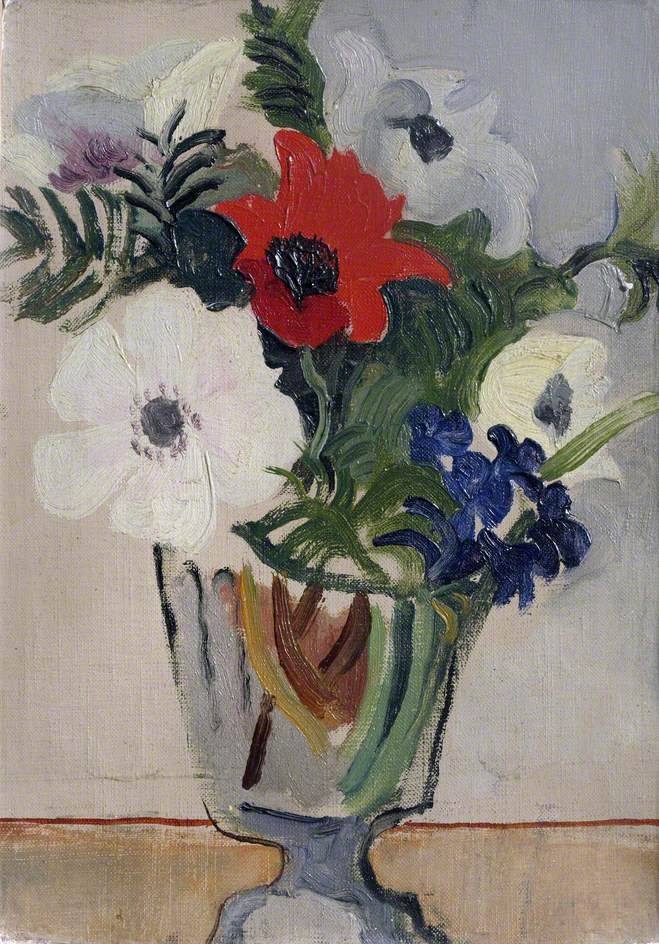 Christopher Wood (English, 1901-1930) - Flowers, 1928