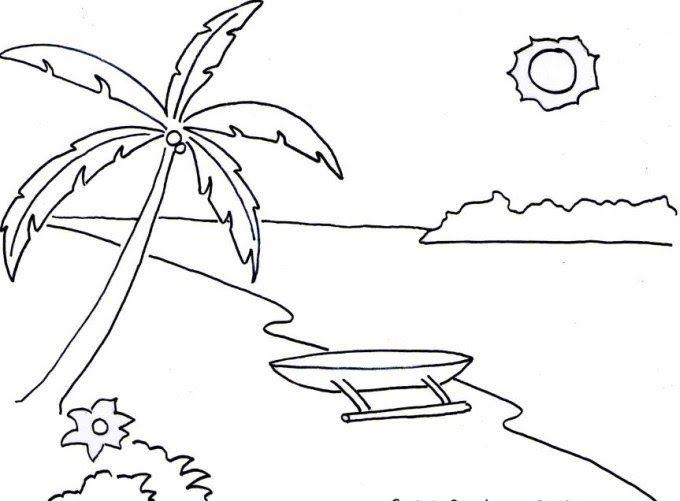 Baru 30 Gambaran Pemandangan Yang Mudah Dan Bagus Aku Dan Istriku Risnawati Yang Biasa Kupanggil Dengan Ris Sudah Menikah K Di 2020 Buku Mewarnai Gambar Pemandangan
