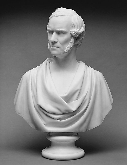 Chauncey B. Ives, Isaac Newton Phelps, 1854, Marble, 78,1 x 53,3 x 25,4 cm, The Metropolitan Museum of Art, New York