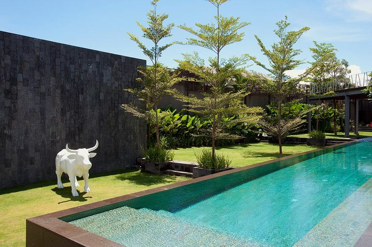 The super-stylish Villa Issi in Seminyak.